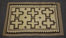Southwest, Possibly Navajo Or Hopi Indian Blanket,