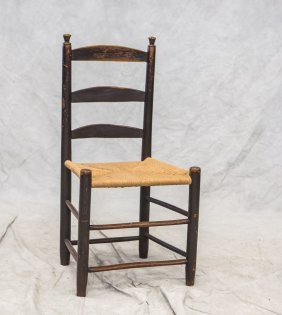 "Ptd Bergen County Chair, 36"" High"