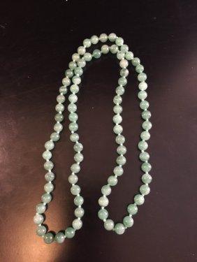 Chinese Hetian Jade Necklace