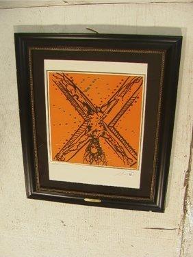 SALVADOR DALI Lithograph Print.  The Twelve Apost