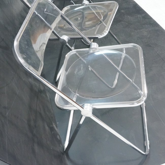 clear acrylic folding chairs 2