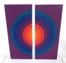 Pr Verner Panton Textiles For Mira-spectrum. Conc