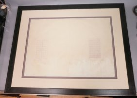 2 Samuel Yellin Architectural Drawings For Iron G