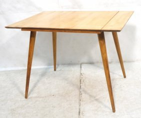 Paul Mccobb Dining Table. Maple. Pull Out Sides.