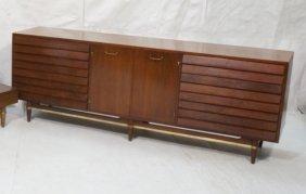 American Modern Dresser Credenza Sideboard. Tripl