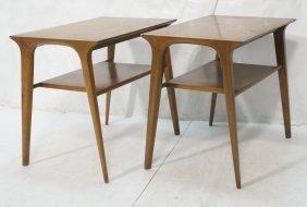 Pr John Van Koert For Drexel Profile Side Tables.