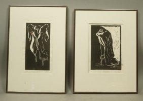 """Pr Ted Kliman Linoleum Block Print. From """"holocau"""