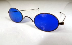 Cobalt Blue Eyeglasses