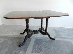 Furniture Mahogany Drop-leaf Table