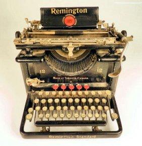 Remington Standard #12 Typewriter Toronto Canada