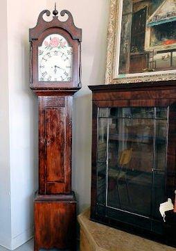 Furniture 19th Century Grand-father Clock