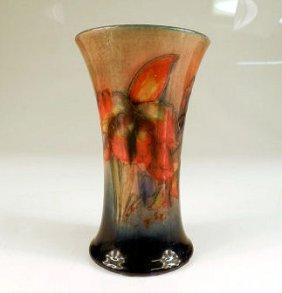 Moorcroft Vase Iris Pattern