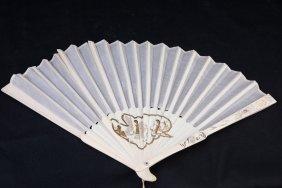 Ivory Folding Fan