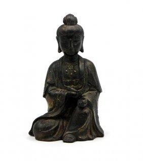 Bronze Gilt Buddha