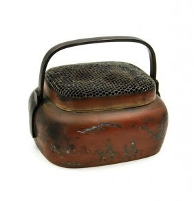 Chinese Antique Bronze Handwarmer