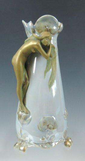 Ernst Wahliss Art Nouveau Vase