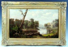John Frederick Kensett Landscape Painting