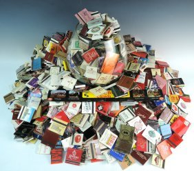 Huge Collection Of Matches & Huge Brandy Snifter