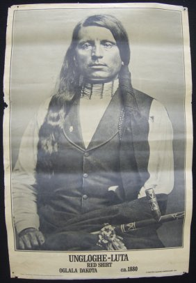 Set Of 3 American Indian Posters