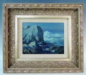Carl Sammons California Coastal Painting