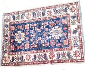 Fine Afghanistan Kazak Caucasian Wool Rug W. Scorpion &