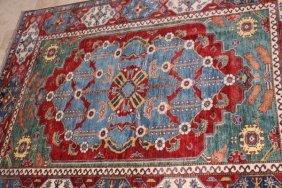 Antique Xlarge Fine Floral Wool Rug Afghanistan, Kazak