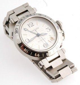 Certified Cartier Pasha Gmt Watch