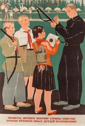 A 1934 Soviet Propaganda Poster By Ekaterina Zernova