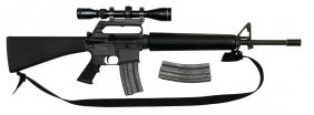 Colt Ar-15a2 Sporter With Scope (3-9x40) & 2 Magazines