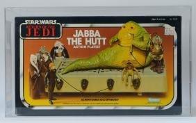 1983 Kenner Star Wars Rotj Jabba The Hutt Afa 80+