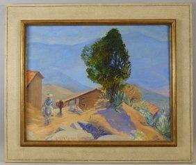 Susan Ricker Knox Western Landscape Painting
