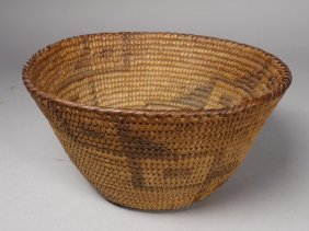 Authentic Antique Native American Basket