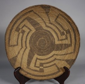 Authentic Antique Native American Indian Basket