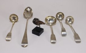 Estate Sterling Silver & Mixed Metal Bird Grouping
