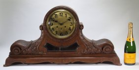 Gustav Becker German Westminster Chime Clock