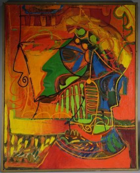Eugene Tonoff Abstract Expressionist Painting