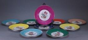Richard Ginori Italian Botanical Porcelain Plates
