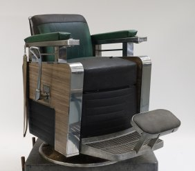 1964 Koken Triumph Mid Century Barbers Chair