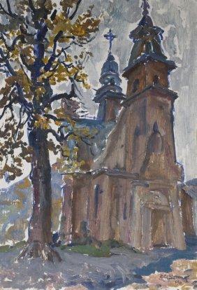 Stanislav Marianovich Servrtnik Russian Painting 1