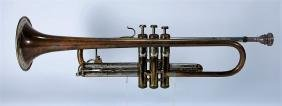 1946 F.e. Olds & Son Recording Trumpet W/ Mutes