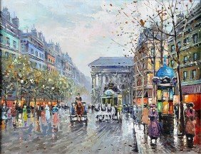 Attributed To ANTOINE BLANCHARD (20th Century) A PA