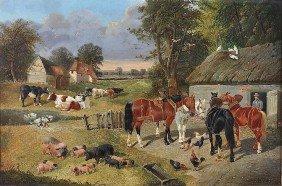 After JOHN FREDERICK HERRING, SR. (British 1795-1