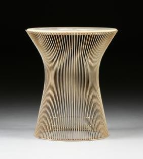 A Warren Platner (american 1919-2006) Bronze Wire And