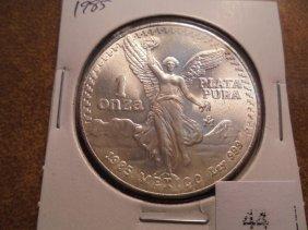 1985 Mexico 1 Oz. Silver Libertad Unc