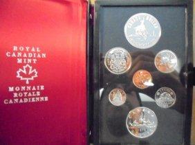 1975 Canada Double Dollar Proof Set Calgary Original