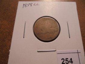 1858 (large Letter) Flying Eagle Cent
