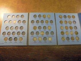 Partial 1913-1938 Buffalo Nickel Set 28 Coins In