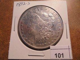 1892-s Morgan Silver Dollar Better Date Coin