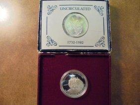 1982 D& S Washington Commemorative Silver Halves Unc