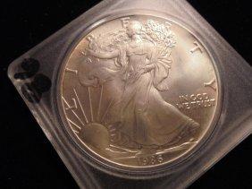 1986 American Silver Eagle Unc